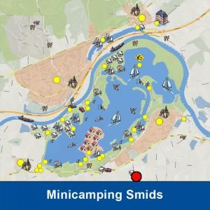 Minicamping Smids ligt in de Liemers nabij het Rhederlaag gebied.