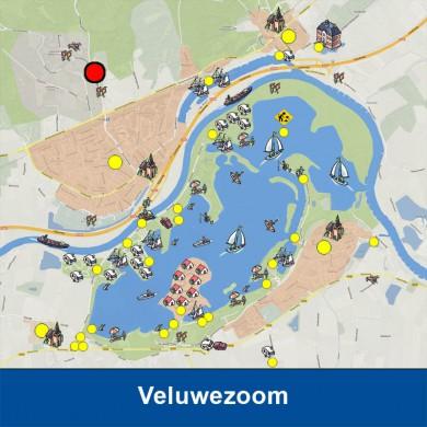 Het bekendste punt in het Nationaal Park Veluwezoom is de