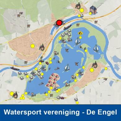 Watersportvereniging De Engel bevindt zich vlak bij het Rhederlaag. KLIK HIER voor meer informatie.