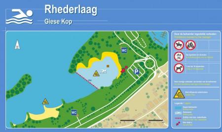 Zwemwaterkwaliteit Giese Kop -zwemwater NL