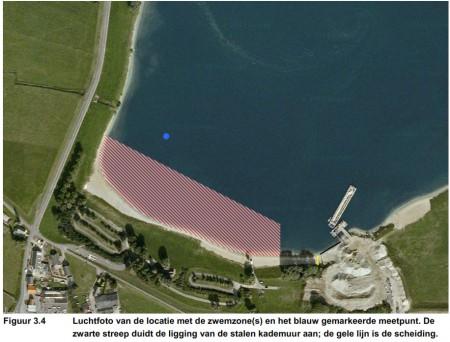 Zwemwaterkwaliteit-meetpunt-Lathumse-Hoek