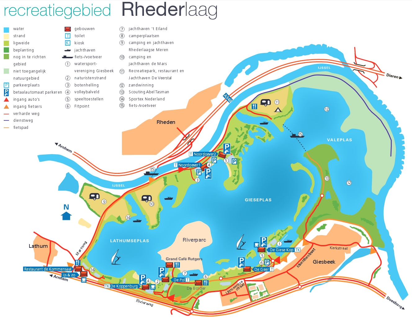 Plattegrond Rhederlaag 2015
