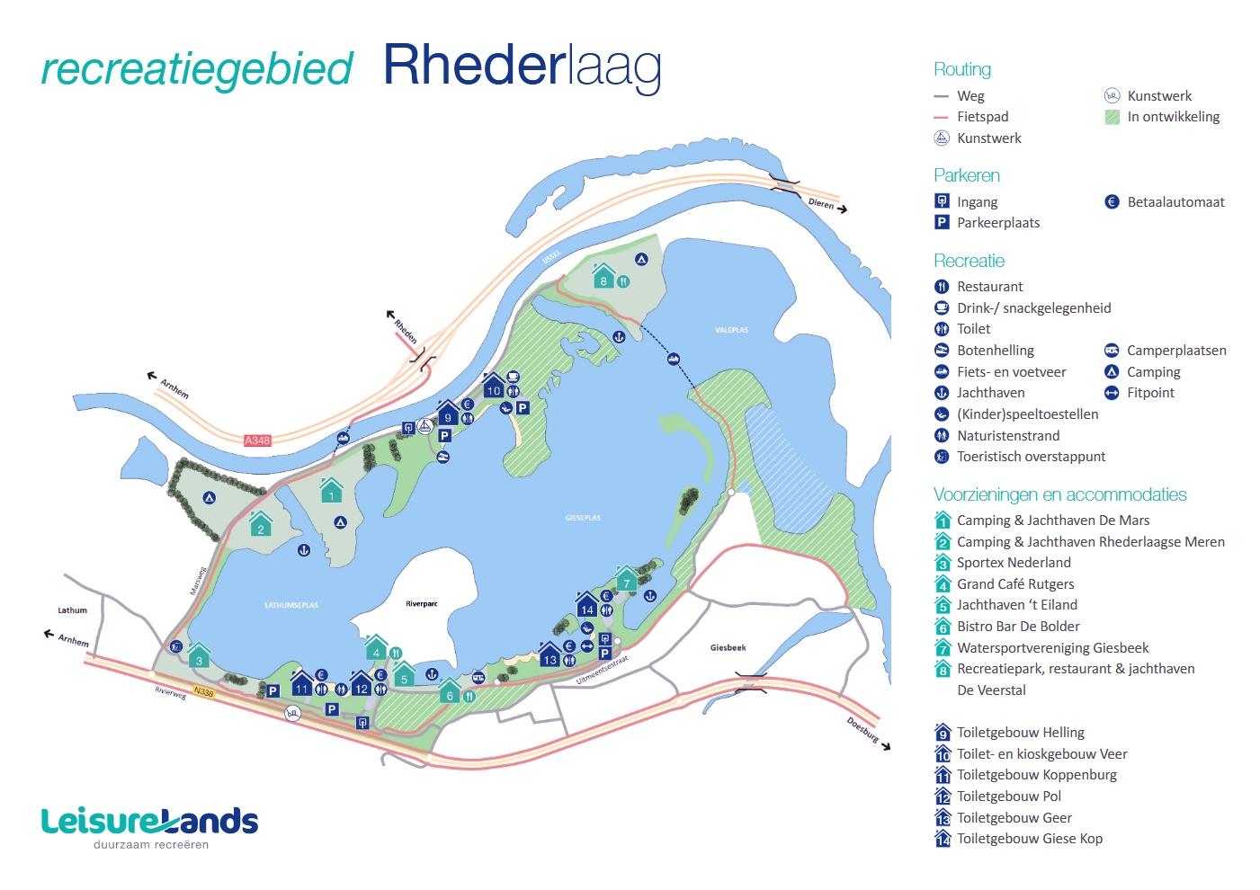 Plattegrond Rhederlaag 2019