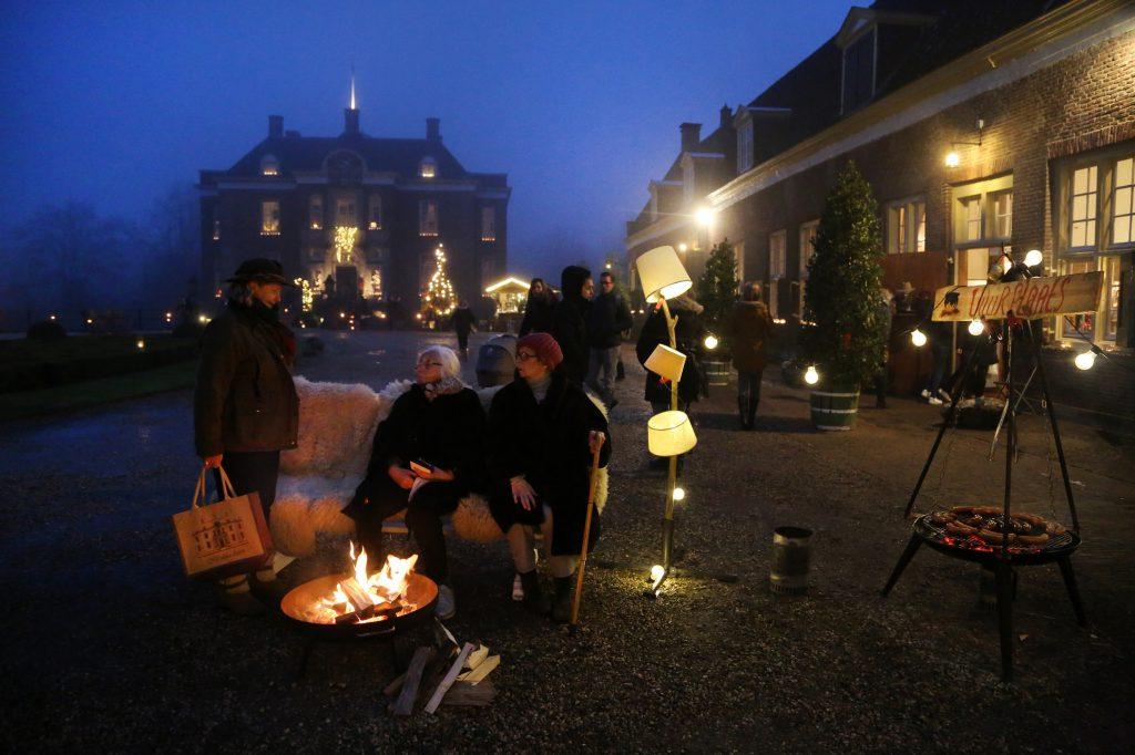 Kerst op Middachten Foto: Jikke fotografie